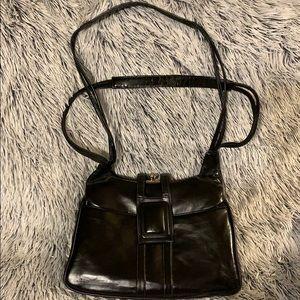 Vintage Lou Taylor Black Bag
